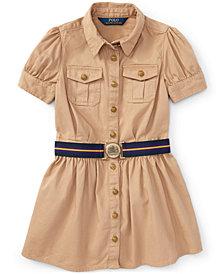 Ralph Lauren Chino Shirtdress, Little Girls