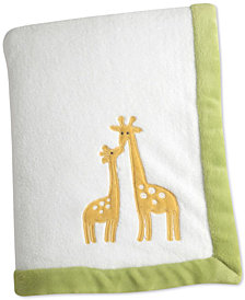 Carter's Animal Collection Appliqué Fleece Blanket