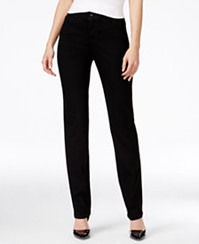 Style & Co Tummy-Control Slim-Leg Jeans, Created for Macy's