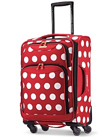 "Disney Minnie Mouse Polka Dot 21"" Spinner Suitcase by American Tourister"