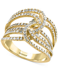 EFFY Diamond Multi-Layer Interwoven Statement Ring (1 ct. tw.) in 14k Gold