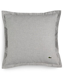 Lacoste Home Blue Albe Square Decorative Pillow, Created for Macy's