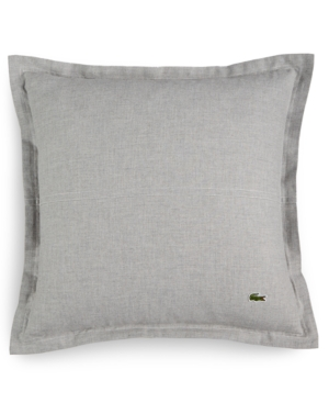 Lacoste Home Blue Albe Square Decorative Pillow A Macys Exclusive Style Bedding