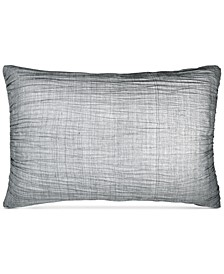 CLOSEOUT! City Pleat Gray Standard Sham