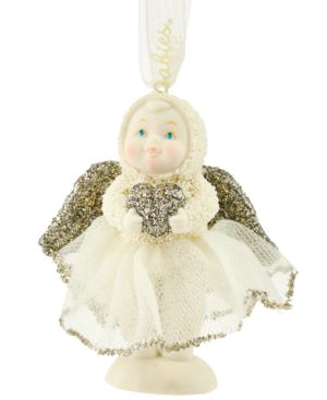 Department 56 Snowbabies Dream Sweetheart Angel Ornament