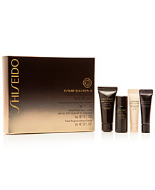 Receive a FREE Future Solutions LX Travel Set with $300 Shiseido Purchase - A $37 Value!