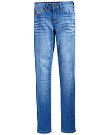 Celebrity Pink Blue Lagoon Denim Skinny Jeans, Big Girls