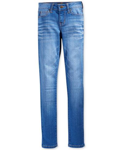 Celebrity Pink Blue Lagoon Denim Skinny Jeans, Big Girls