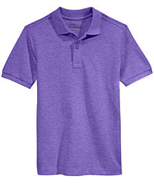 Nautica Big Boys & Husky Boys Short-Sleeve Uniform Polo
