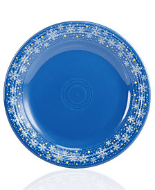 Fiesta Snowflake Dinner Plate, Created for Macy's