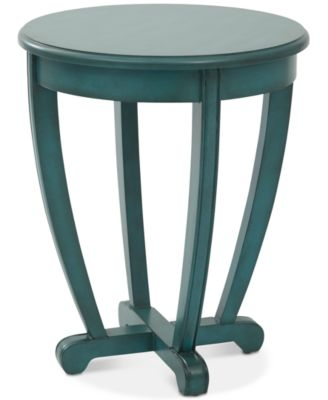 Captivating Herone Round Accent Table, Quick Ship