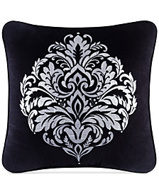 "CLOSEOUT! J Queen New York Cambridge 20"" x 20"" Decorative Pillow"