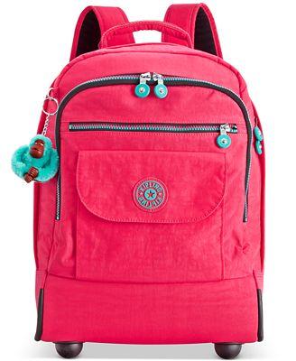 Kipling Sanaa Wheeled Backpack - Handbags & Accessories - Macy's