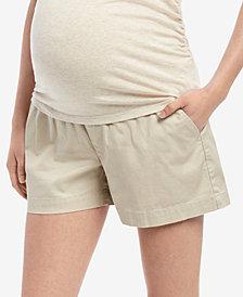 Motherhood Maternity Under-Belly Shorts