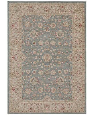 CLOSEOUT! Momeni Voyage Abbey Blue Area Rugs