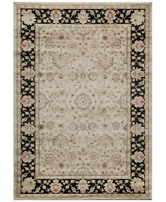 CLOSEOUT! Momeni Voyage Abbey Black 2' x 3' Area Rug