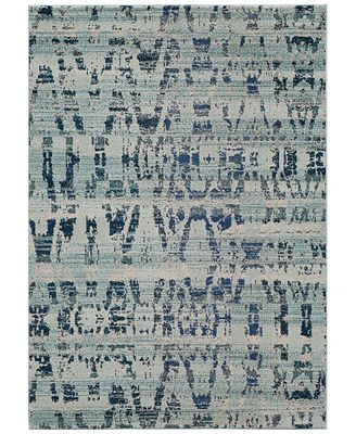 CLOSEOUT! Momeni Modern Loom ML4 Ocean Blue 5'3