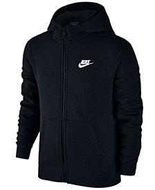 Nike Full-Zip Club Hoodie, Big Boys