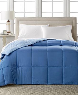Home Design Down Alternative Color Twin Comforter Hypoallergenic