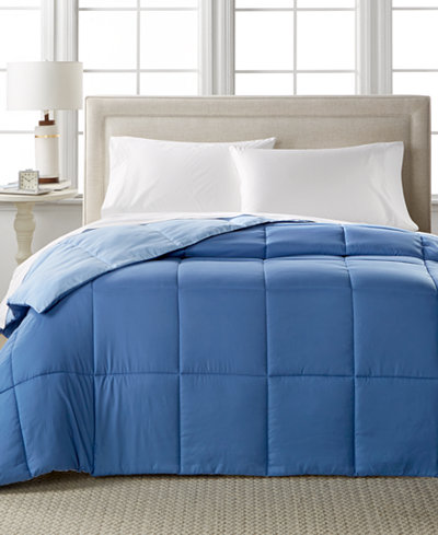 CLOSEOUT! Home Design Down Alternative Color Full/Queen Comforter, Hypoallergenic, Created for Macy's