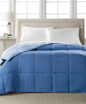 Home Design Down Alternative Color Twin Comforter Hypoallergenic Only At  Macy SHome Design Down Alternative Color