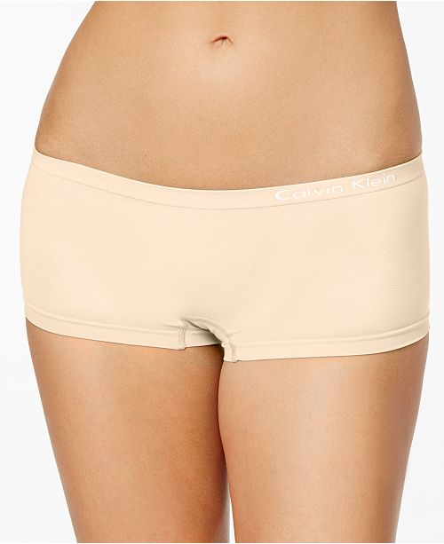 37751d8ce Calvin Klein Seamless Hipster Boyshort QD3546 & Reviews - Bras ...