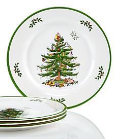 spode christmas tree set4