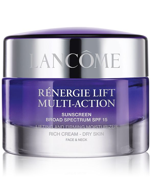 Lancome Rènergie Lift Multi-Action SPF 15 Rich Cream For Dry Skin, 1.7 oz.