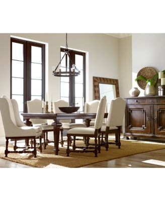 Cortwright 9 Piece Dining Set (Expandable Dining Table, 6 Side ...