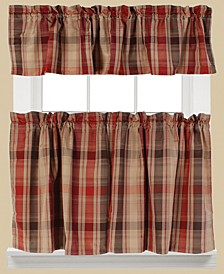 Cooper Plaid Valance and Tier Pair Collection