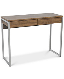 Mellan 2 Drawer Desk, Quick Ship