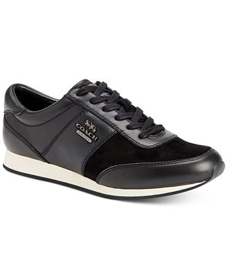 COACH Raylan Lace-Up Sneakers