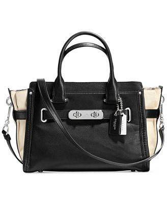 COACH Soft Swagger 27 in Colorblock Leather