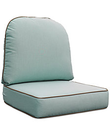 Monterey & Sandy Cove Outdoor Chair Replacement Sunbrella® Cushion, Quick Ship