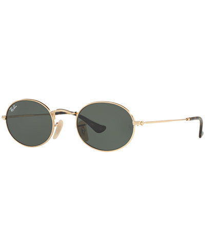 Ray-Ban OVAL FLAT LENS Sunglasses, RB3547N 48