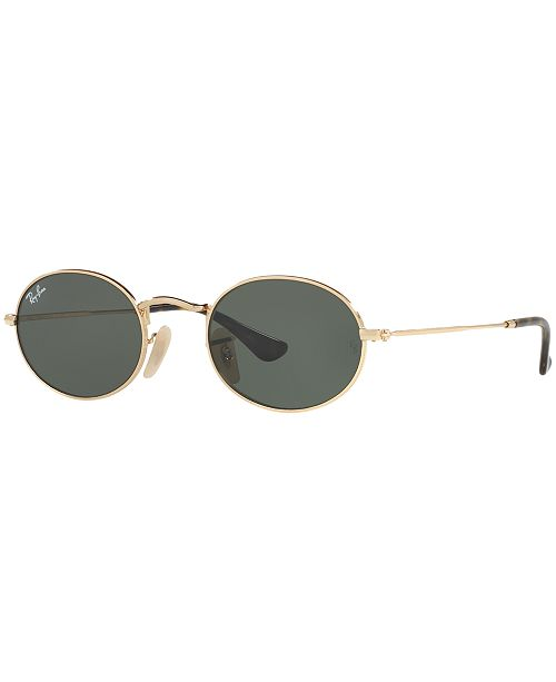 Ray-Ban OVAL FLAT LENS Sunglasses, RB3547N 48