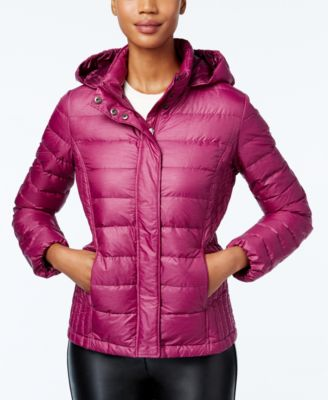 Image of 32 Degrees Packable Hooded Puffer Coat, Only at Macy's