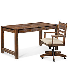 Avondale Home Office Furniture, 2-Pc. Set (Desk & Desk Chair)