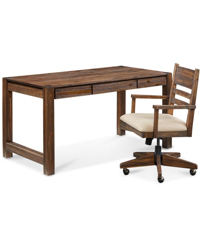 Furniture Avondale Home Office Furniture, 2-Pc. Set (Desk & Desk Chair) & Reviews - Furniture - Macy's