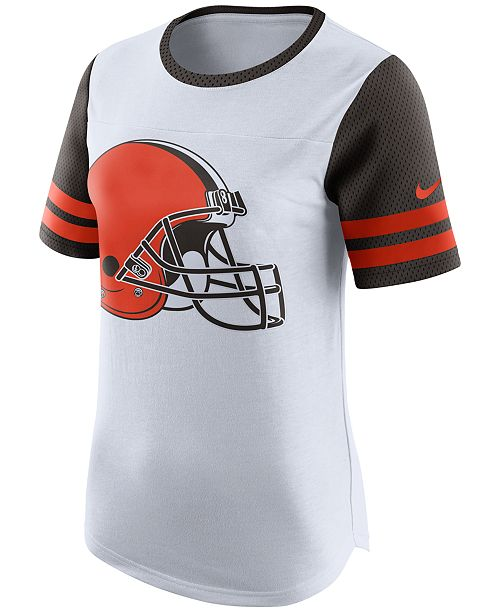 9612d9f76aab3 Nike Women s Cleveland Browns Gear Up Fan Top T-Shirt   Reviews ...