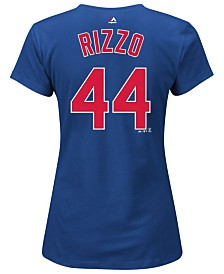 Majestic Women's Anthony Rizzo Chicago Cubs T-Shirt
