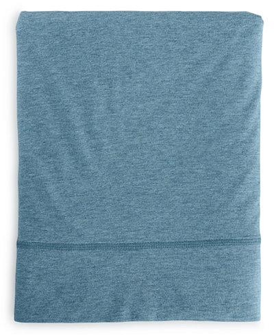 CLOSEOUT! Calvin Klein Modern Cotton Body Queen Flat Sheet