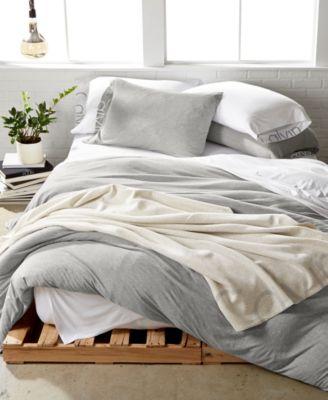calvin klein modern cotton body king duvet cover - Modern Duvet Covers