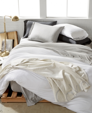 Image of Calvin Klein Modern Cotton Body Twin Duvet Cover Bedding