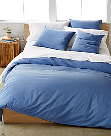 Calvin Klein Washed Essentials Color Wash King Duvet Cover Set