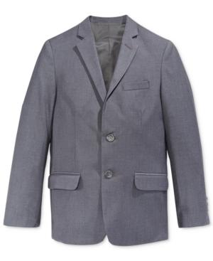 Calvin Klein Fine Line Twill Suit Jacket Big Boys (820)