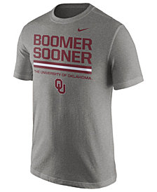 Nike Men's Oklahoma Sooners Cotton Local Verbiage T-Shirt