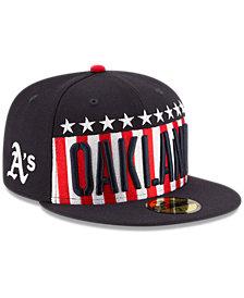 New Era Oakland Athletics Big USA 59FIFTY Cap