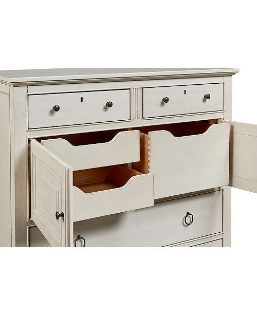 Furniture Sag Harbor White 4 Drawer Chest Furniture Macy 39 S