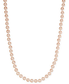 Charter Club Imitation Pink Pearl Strand Necklace, Created for Macy's